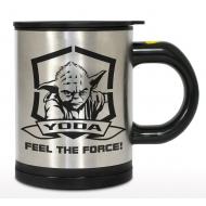Star Wars - Mug auto-remuant Yoda