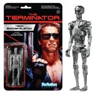 Terminator - Figurine ReAction T-800 Endoskeleton 10 cm