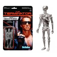 Terminator - Figurine ReAction T-800 Endoskeleton Chrome 10 cm
