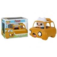 Adventure Time - Figurine POP! Finn avec son véhicule Jake Car