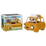 Adventure Time - POP! Rides Vinyl Véhicule avec figurine Jake Car & Finn 12 cm