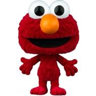 1 rue Sésame - POP! Elmo (Flocked) 9 cm