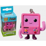Adventure Time - Porte-clés Pocket POP! Pink BMO 4 cm