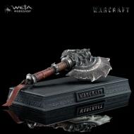 Warcraft - Réplique 1/6 Durotan's Axe 20 cm