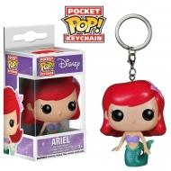 La Petite Sirène - Figurine Pocket Pop Porte Clé Ariel 4cm