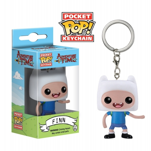 Adventure Time - Figurine Pocket Pop Porte Cle Finn 4cm
