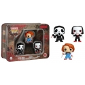 Horror - Pack Pocket Pop Tin 3 Chucky Ghostface Billy