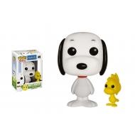 Peanuts - POP! Animation Vinyl figurine Snoopy & Woodstock 9 cm