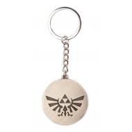 The Legend of Zelda - Porte-clés métal Triforce Logo