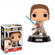Star Wars Ep VII - Figurine POP! Rey Battle Pose