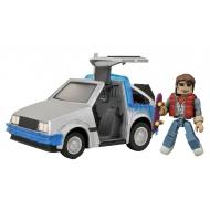 Retour vers le futur - Retour vers le Futur Minimates véhicule 30th Anniversary Time Machine