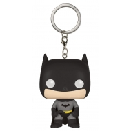 Batman - Porte-clés Pocket POP! Black 4 cm
