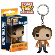 Doctor Who - Porte Clé Pocket Pop 11th Doctor figurine 4cm