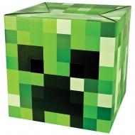 Minecraft - Tête de Creeper en carton
