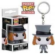Alice au Pays des Merveilles - Alice de l'autre côté du miroir POP! Vinyl porte-clés Mad Hatter 4 cm