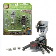 Minecraft - Figurine Spider Jockey 8 cm
