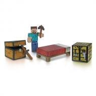 Minecraft - Survival Pack figurine Core Player Steve 8 cm