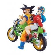 Dragonball Z - Figurine 05 Desktop Real McCoy Vol. 1 diorama PVC Son Goku & Chi-Chi 15 cm