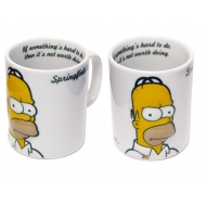 The Simpsons - Mug Homer Relief 2D