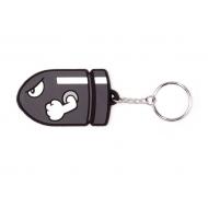 Super Mario Bros - Porte-clés caoutchouc Bullet Bill 7 cm