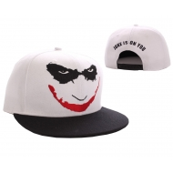 Batman - Casquette baseball Joker Logo Blanc