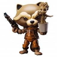 Les Gardiens de la Galaxie - Figurine Rocket Raccoon avec Dancing Groot 10 cm