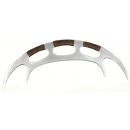 Star Trek The Next Generation - Réplique mousse Klingon Bat'leth 107 cm
