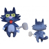 Simpsons - Peluche Phunny Scratchy 18 cm