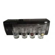 Game of Thrones - Set 4 verres à liqueur