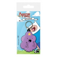 Adventure Time - Porte-clés caoutchouc Lumpy Space Princess 6 cm