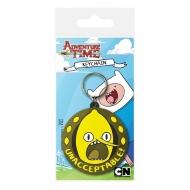 Adventure Time - Porte-clés caoutchouc Lemongrab Unacceptable 6 cm