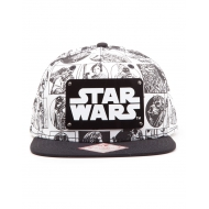 Star Wars - Casquette hip hop Snap Back Comic Style