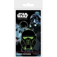 Star Wars Rogue One - Porte-clés caoutchouc Death Trooper 6 cm