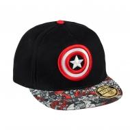 Marvel Comics - Casquette Premium Captain America Shield Logo