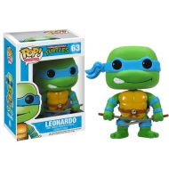 Les Tortues Ninja - Figurine POP! Leonardo 10 cm