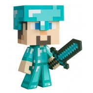Minecraft - Figurine vinyle Diamond Steve 15 cm