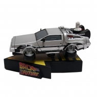Retour vers le Futur II - Figurine Shakems Bobble Flying DeLorean 18 x 13 cm