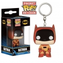 Batman - Pocket Pop Porte Cle Batman 75th Anniv Colourways Orange 4cm