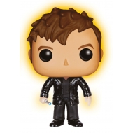 Doctor Who - Figurine POP! 10th Doctor Regeneration Glow In The Dark 9 cm