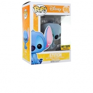 Lilo & Stitch - Figurine POP Flocked Stitch Assis Exclu 9cm