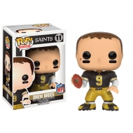 NFL - Figurine POP! Drew Brees (New Orleans Saints) 9 cm