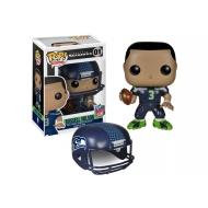 NFL - Figurine POP! Russell Wilson (Seattle Seahawks) 9 cm