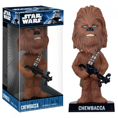 STAR WARS - Figurine Bobblehead de Chewbacca (18cm) - Funko