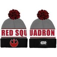 Star Wars Rogue One - Bonnet Pom-Pom Red Squadron