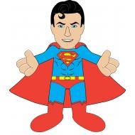 DC Comics - Peluche série 2 Superman Classic 25 cm