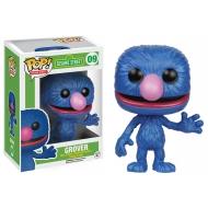 1 rue Sésame - Figurine POP! Grover 9 cm
