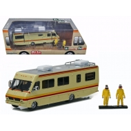 Breaking Bad - 1986 Fleetwood Bounder RV 1/64 métal avec 2 figurines