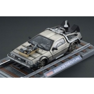Retour vers le Futur III - DeLorean LK Coupe 1981 Railroad Version 1/18 métal