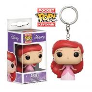 La Petite Sirène - Porte-clés Pocket POP! Ariel in Ball Gown 4 cm