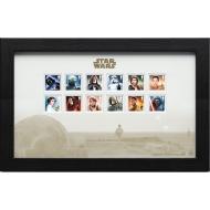Star Wars - Timbres encadrés Characters 43 x 27 cm